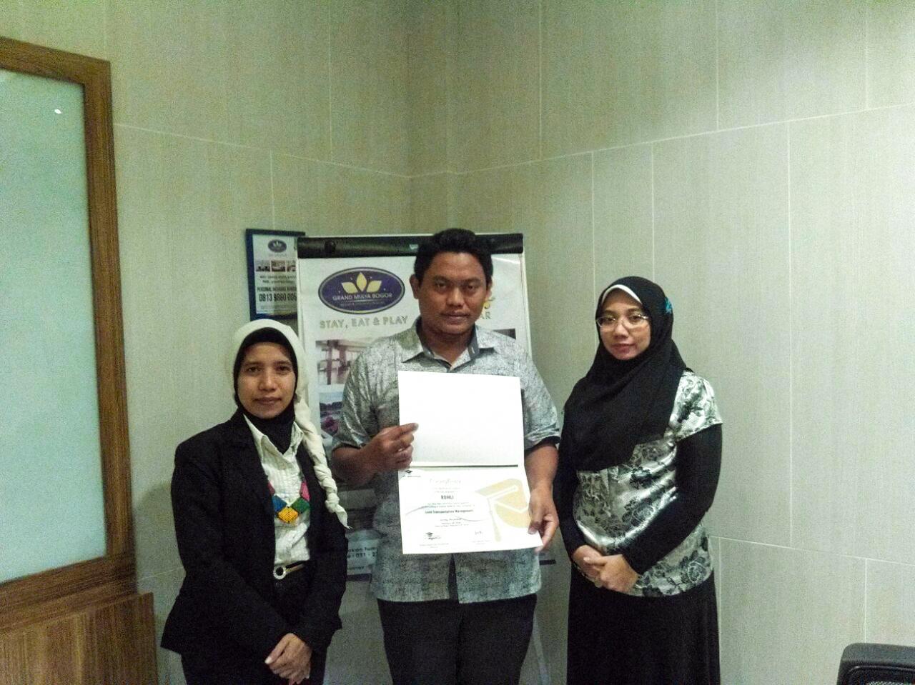 Land Transportation Management, Bogor 13-14 Februari 2018